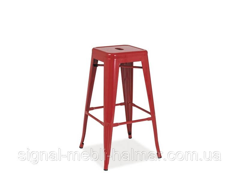Барный стул Long  Signal красный