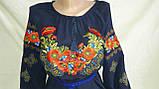 Женская вышитая блуза шифон (рр.42-58), фото 2