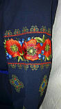 Женская вышитая блуза шифон (рр.42-58), фото 3