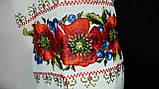 Шикарная вышитая женская шифоновая блуза (рр.42-58), фото 4