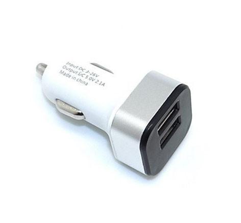 Адаптер автомобильный HC1 9001 5V 2 USB 2.1A и 1A ZX