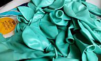 """Латексные шары Пастель бирюзовый аквамарин 10"""" (25-26 см), 100 штук ТМ Gemar"""