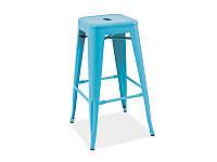 Барный стул Long Signal голубой