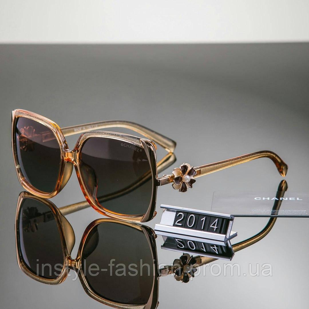 519ece6d2630 Женские очки брендовый Polaroid Chanel Шанель коричневые - Сумки брендовые,  кошельки, очки, женская