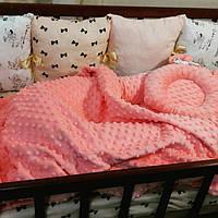 Бортики в детскую кроватку, кокон, плед