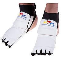 Защита стопы таеквондо (носки) WTF белая
