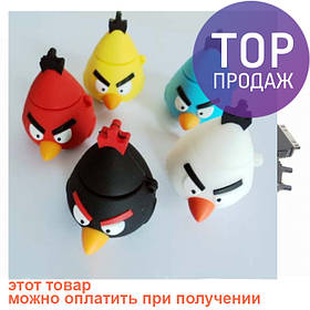 Флеш накопитель 8GB, USB 2.0 Angry Birds, конус, флешка-сюрприз / USB Флеш накопители