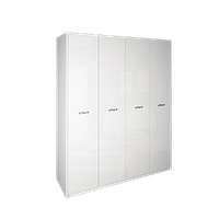 Шкаф ИМПЕРИЯ белый глянец 4 двери от Миро-Марк