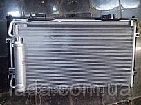 Радіатор кондиціонера Halla ВАЗ 2170, ВАЗ 2171, ВАЗ 2172, Пріора