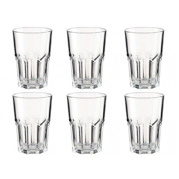 Набір склянок Luminarc New America 350 мл, 6 шт. високі