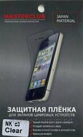 Nokia_C3, глянцевая пленка