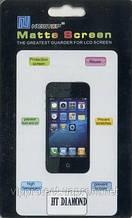 HTC P3700, матова пленкаТоисһ Diamond