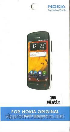 Nokia 306, матовая пленка Asha