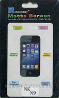 Nokia_N9, матовая пленка
