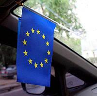 Прапорець Євросоюзу (з присоскою)