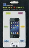 Samsung S5620/S5628 Monte, матовая пленка