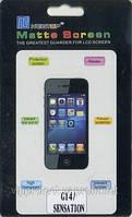 HTC Sensation_Z, матовая пленка G14 710E