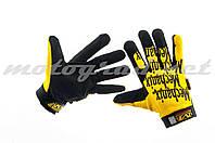 Перчатки MECHANIX желто-чёрные