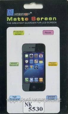 Nokia 5530, матовая пленка XpressMusic