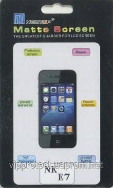 Nokia_E7, матовая пленка (E7-00)