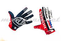 Перчатки TLD красно-бело-черные