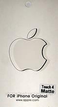 Apple iPod touch 4, матовая пленка