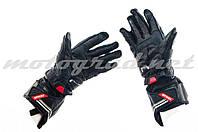 Мотоперчатки краги VEMAR красно-чёрные