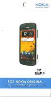 Nokia 311, матовая пленка 310 Asha