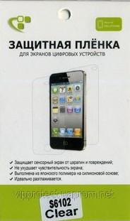 Samsung S6102 Galaxy Y Duos S6108, глянцевая пленка