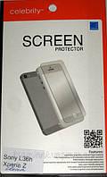 Sony Xperia_Z, глянцевая пленка Yuga L36h