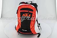 Рюкзак помаранчево-біло-чорний KTM