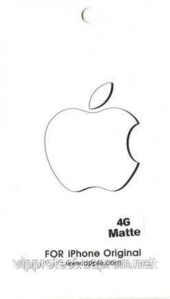 Apple iPhone 4G, матовая пленка