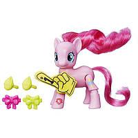Моя маленькая Пони Пинки Пай с артикуляцией My Little Pony Explore Equestria Pinkie Pie Cheering Poseable Pony