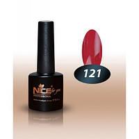Гель-лак Nice for you №121 цвет красной фасоли 8,5 мл