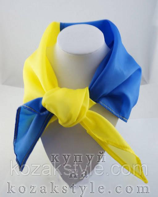 Косинка блакитно-жовта