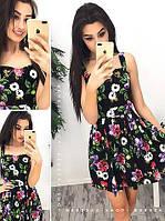 Платье сарафан  из хлопка