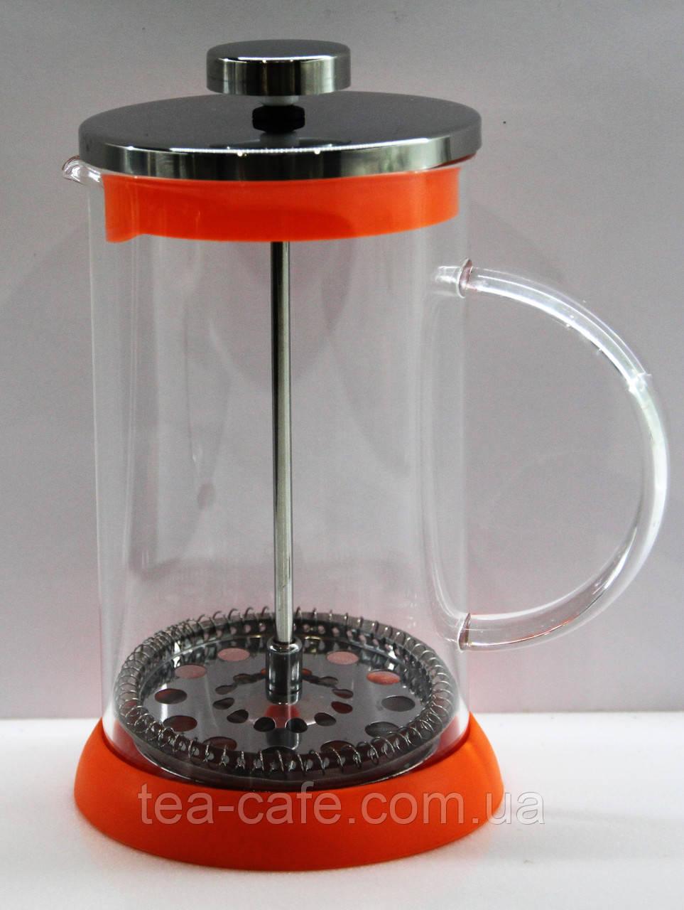 """Френч-пресс """"Веселка"""" для чая и кофе 600 мл"""