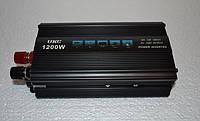 Преобразователь Напряжения 12V 220V 1200W Инвертор