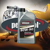 Трансмиссионное масло для МКПП и мостов полусинтетика PENNASOL MULTIGRADE HYPOID GEAR OIL GL5 SAE 75W90 1L