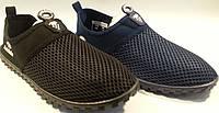 Кроссовки дышащие р40-45 AUTOBAHN черный и синий SEGI