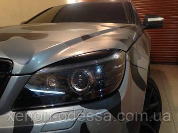 НАШИ РАБОТЫ: Окрашивание масок фар Mercedes W204