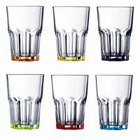 Набор стаканов Luminarc Bright Colors New America 350 мл 6 шт. низкие