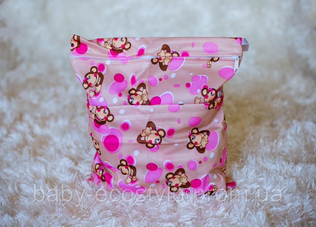 """Удобные сумочки для сухих и мокрых вещей c двумя отделениями милашка - Интернет-магазин """"Baby Ecostyle"""" в Харькове"""