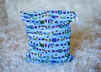 Удобные сумочки для сухих и мокрых вещей c двумя отделениями букашки