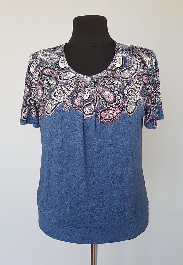 фотография женская летняя блузка с короткими рукавами