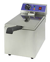 Фритюрница электрическая 6л EWT INOX EF061