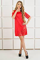 Платье  Марлен   красный