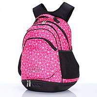Рюкзак Dolly 365 женский городской на два отдела с рисунком разные цвета 35 см х 46 см х 25 см