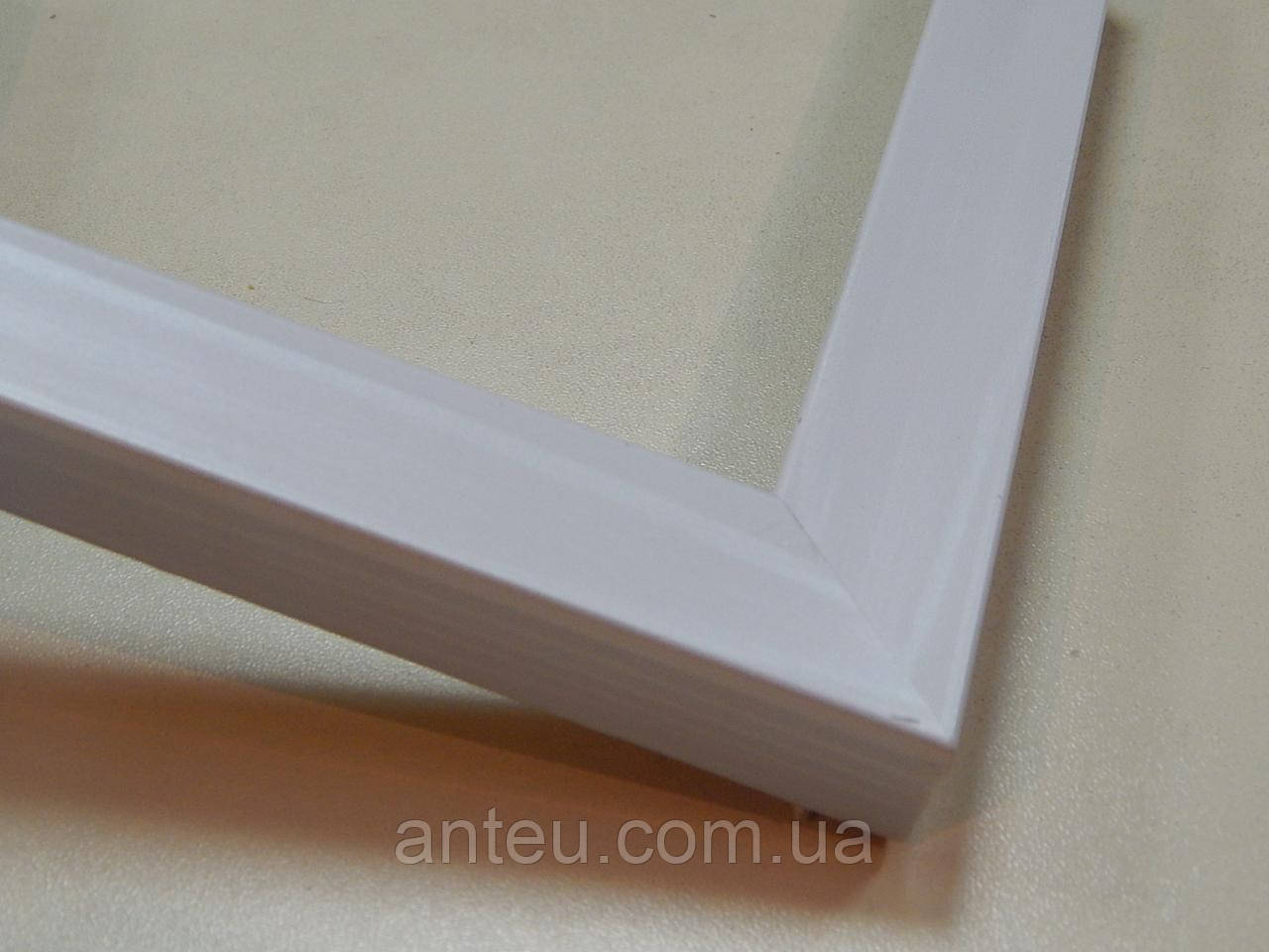 Рамка 10х15.22 мм.Белое дерево.