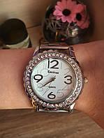 Роскошные женские часы со стразами (Silver)